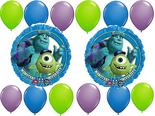 Monster University Party Balloons Kit - 14 pc by Party Supplies by Party Supplies