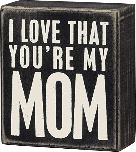 Sign For I Love You (Primitives by Kathy Classic Box Sign, I I Love That You're My)