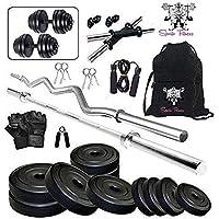 SPORTO FITNESS PVC Home Gym Kit Combo, 20 Kg