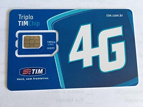 Amazon.com: Tim Brasil tarjeta SIM de prepago