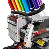 Melco Amaya Bravo 16 Needle Professional Embroidery Machine Package C