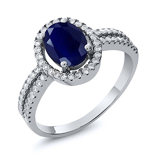 255-ct-oval-blue-sapphire-gemstone-birthstone-925-sterling-silver-womens-engagement-ring-available-i