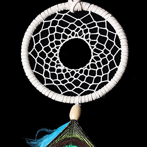 Handmade Dream Catcher Net Feather Wall Car Hanging Decoration Ornament Gift By HittecH by HittecH (Image #2)