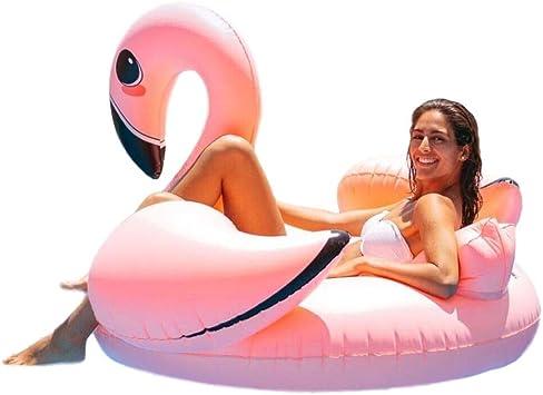 Flamingueo Flotador Grande Flamenco - Colchoneta Piscina Flamenco ...
