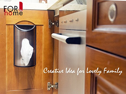Kitchen Waste Basket Holder: Grocery Bag Holder Plastic Bag Saver