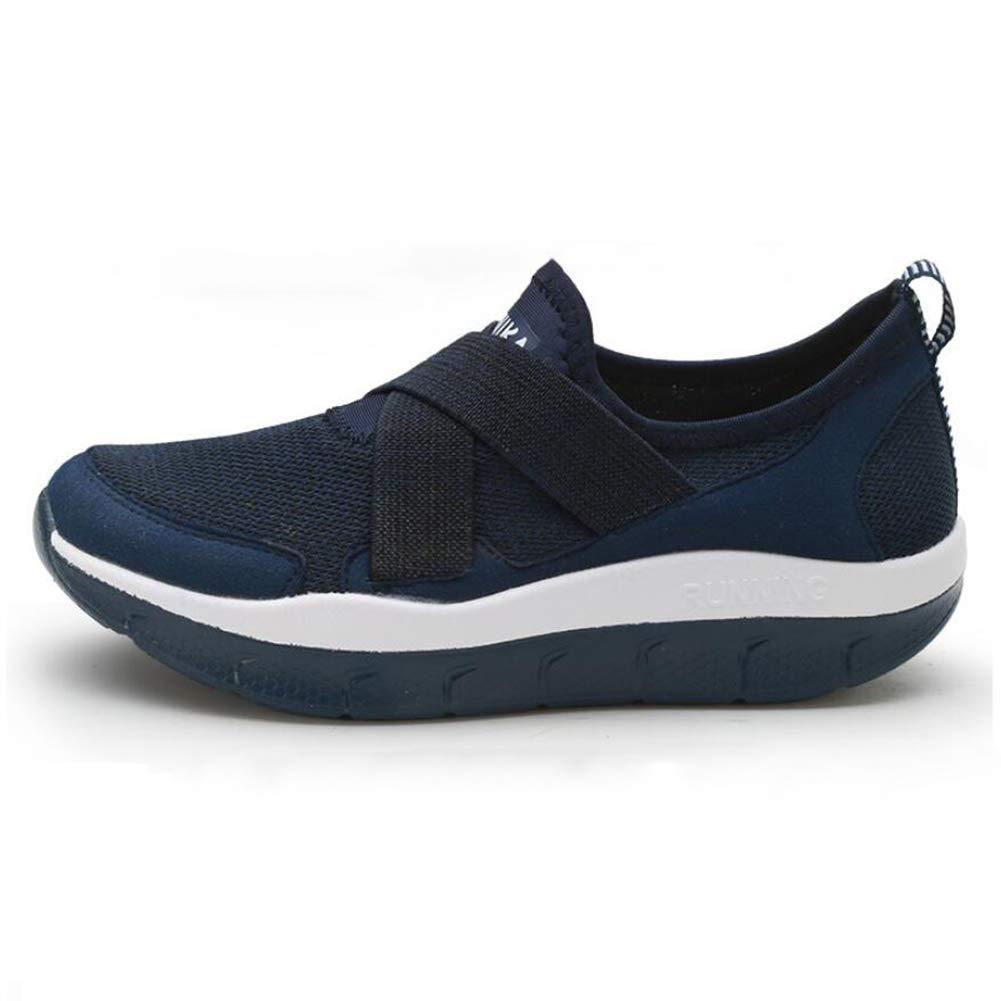 FHTDW Zapatos Para Caminar Para Mujer Zapatillas De Deporte De Moda Transpirable Ligero Amortiguador Deporte Zapato: Amazon.es: Ropa y accesorios