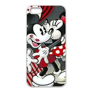 Mickey Mouse E2G3Qk Funda LG G 5 5S 5SE caja del teléfono celular Funda Caso de teléfono blanco Z7A2UH funda de plástico bricolaje