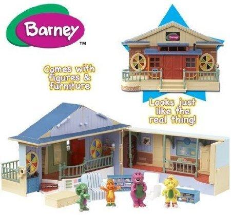 5Star-TD Barney Deluxe Schoolhouse Playset (with Play Figures) (Play Schoolhouse)