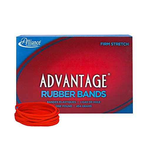 Alliance Rubber 96335 Advantage Rubber Bands Size #33, 1 lb Box Contains Approx. 600 Bands (3 1/2