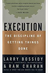 Execution: The Discipline of Getting Things Done Hardcover
