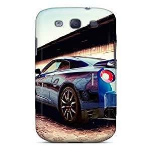 For Galaxy S3 Premium Tpu Case Cover Nissan Gt R 2011 Protective Case