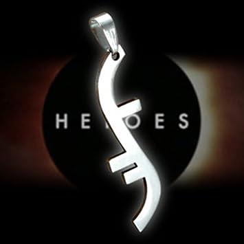 Gambulin Stainless Steel Heroes Godsend Helix Symbol Pendant