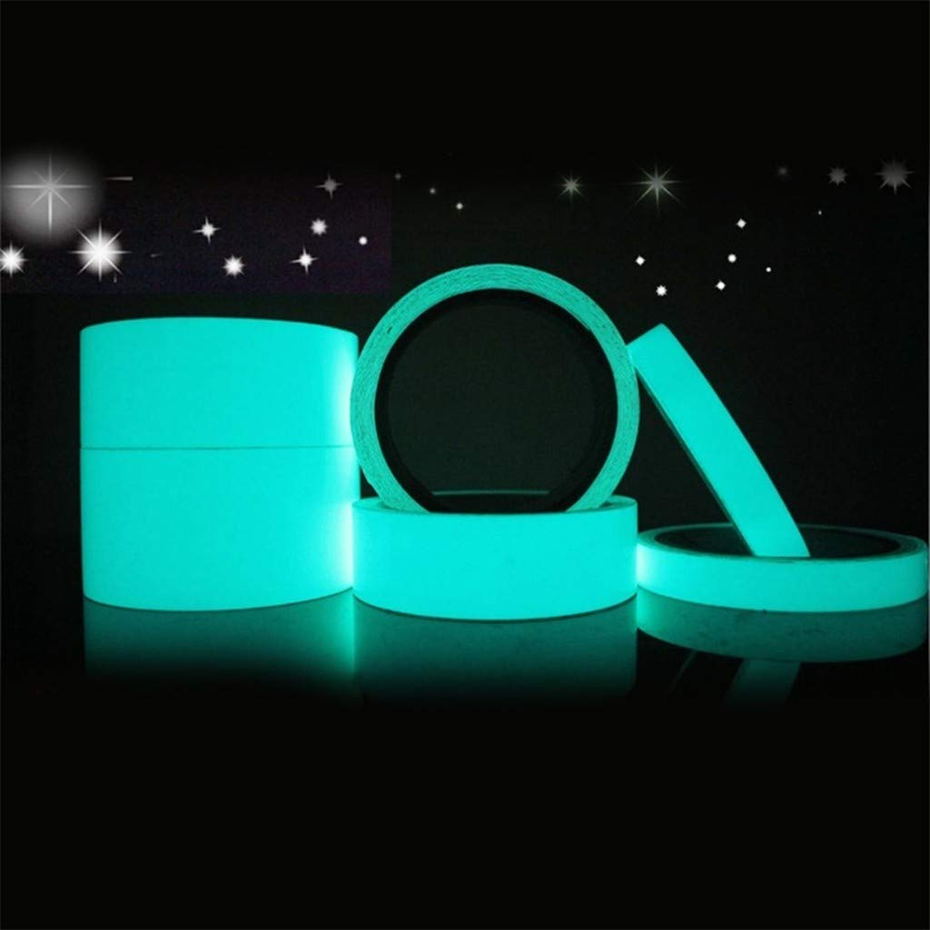 Reflective Glow Tape Self-Adhesive Sticker Removable Luminous Tape by CAVSDARR (Image #2)
