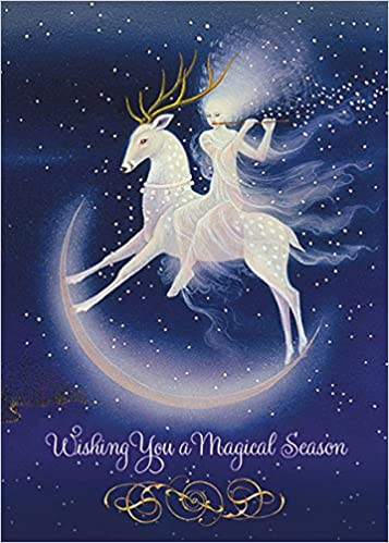 magical season boxed holiday greeting cards