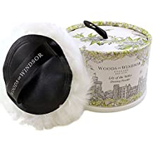 Woods of Windsor Body Dusting Powder with Puff for Women, Lily of The Valley, 3.5 Ounce