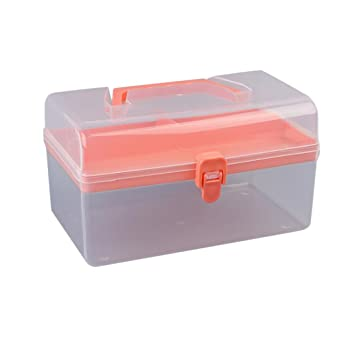 Amazoncom Storage BoxClearanceAmyDong Clear Plastic Toolbox