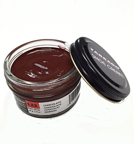 Tarrago Shoe Cream Jar 50ml. #122 Chocolate