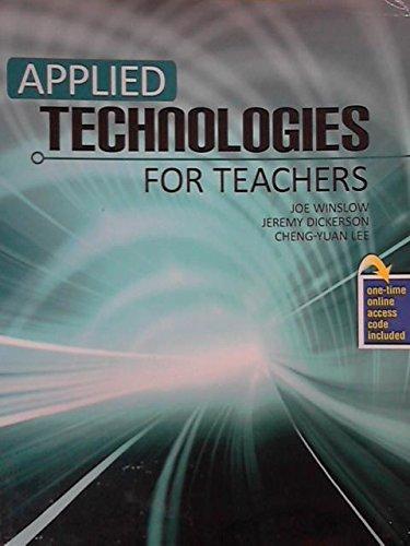 Applied Technologies for Teachers - Text