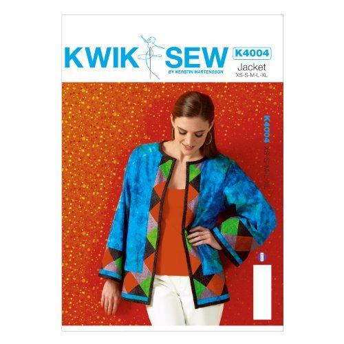 KWIK-SEW PATTERNS K4004OSZ Misses' Jacket Sewing Template, All Sizes by KWIK-SEW PATTERNS