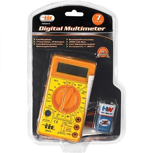 IIT 26415 Digital Multimeter Functions product image