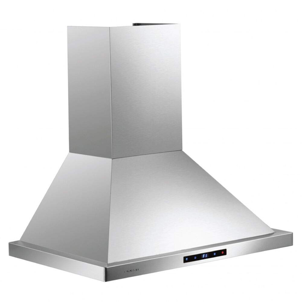 """CAVALIERE Wall Mounted 30"""" Inch Range Hood 