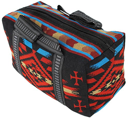 Splendid Exchange Travel Duffel Bag, 18 Inch, Black and Red from Splendid Exchange