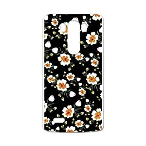 Canting_Good,Retro Floral Daisy, Custom Case for LG G3 (Laser Technology)