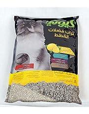 تراب قطط برائحة الليمون ، 2.7 كجم