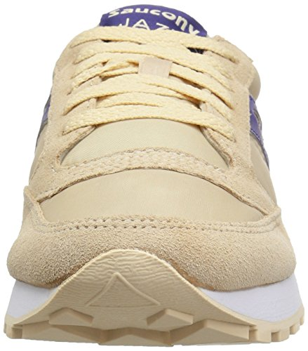 de Jazz Femme Chaussures Morado Cross Multicolore Saucony Original Beige nzwxOxt