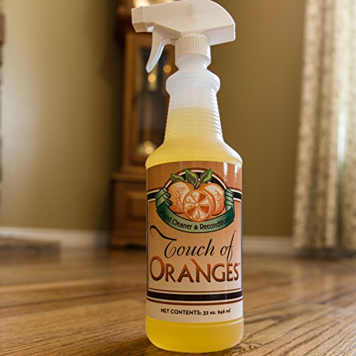 Orange Oil Wood Cleaner and Beeswax Furniture Polish, Restore Hardwood Floors, Cabinets, Tables, Antiques, Preserve and Protect with Touch of Oranges by Touch Of Oranges (Image #5)