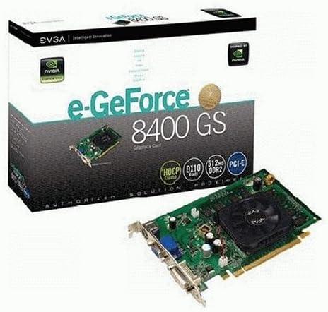 EVGA NVIDIA GeForce 8400 GS 512MB DDR2 PCI-E Video Graphics Card DVI VGA