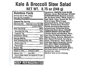 Mary's Harvest Chicken Kale Broccoli Salad, 8.75 Oz 2