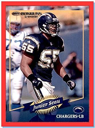 sports shoes c319d 9e69c 2000 Donruss #113 Junior Seau RIP HOF SAN DIEGO CHARGERS USC ...