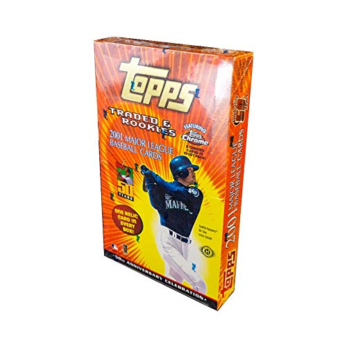 - 2001 Topps Traded & Rookie Baseball Hobby Box