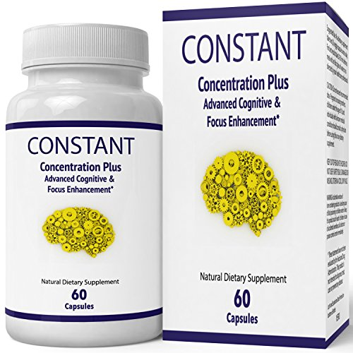 Constant Concentration Plus Supplement - Advanced IQ Brain Supplement - Mind IQ Pill/Advanced IQ Plus Supplement - Original IQ Plus Limitless Pill by nutra4health