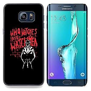Who Watches The Watchmn Caja protectora de pl??stico duro Dise?¡Àado King Case For Samsung Galaxy S6 Edge Plus
