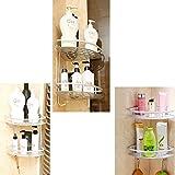 Deekec Bathroom Corner Shower Shelf Shower