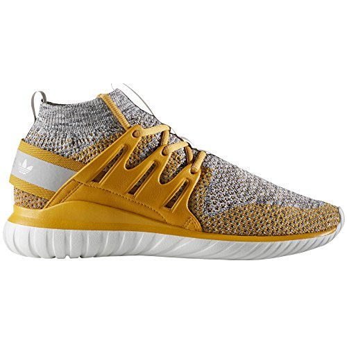 Adidas Mens Tubular Nova Pk Primeknit Zapatillas De Running (42 Eu - 8uk, St Nomad Yellow S14 / Clear Granite / Granite)