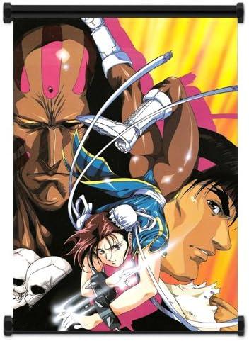 Amazon Com Street Fighter Anime Game Group Ryu Chun Li Dhalsim