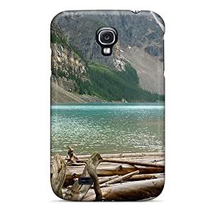 Protector For Case Ipod Touch 5 Cover Logging Camp On A Beautiful River Case