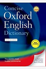 Concise Oxford English Dictionary (with CD) Hardcover