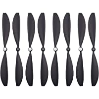 SODIAL 8Pcs for Drone Propellers Blades Wings Accessories Parts for Karma Black D.21