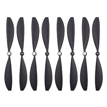 Hojas de hélice para GoPro Karma, Jamicy ®, 8 Piezas New Black ...