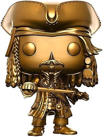 Funko- Pirates of The Caribbean 5-Jack Gold Sparrow Figurina, Multicolor, 13842