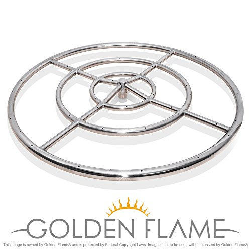 Round Fire Pit Burner Ring product image