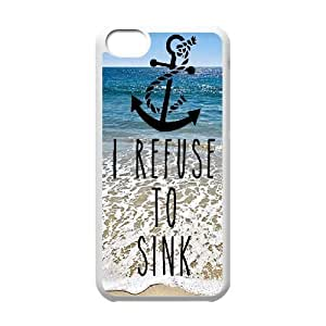 Lmf DIY phone caseI Refuse to Sink Popular Case for iphone 6 4.7 inch, Hot Sale I Refuse to Sink CaseLmf DIY phone case