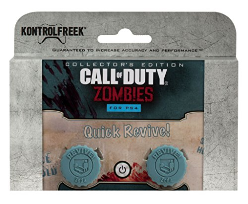 KontrolFreek Call of Duty Revive for PlayStation 4 (PS4) Controller | Performance Thumbsticks | 2 Mid-Rise Concave | Teal