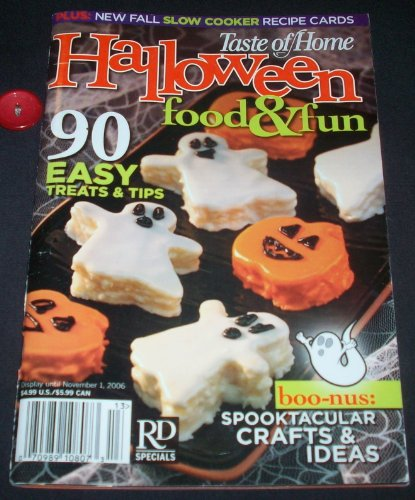Taste of Home Halloween Food & Fun - 2006 -