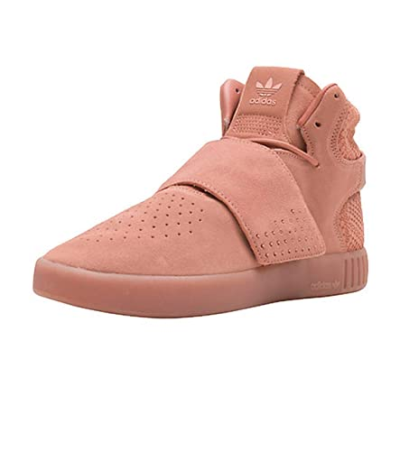 f36ff469a45f adidas Originals Mens Tubular Invader Strap Shoes Raw Pink Raw Pink Still  Breeze Cg5070 Sz 9.5M  Amazon.co.uk  Shoes   Bags