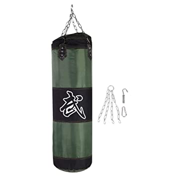 Amazon.com : Bnineteenteam Heavy Boxing Punch Bag with Chain ...